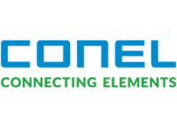 Conel connecting elements